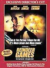 Reindeer Games (DVD, 2001, Directors Cut)