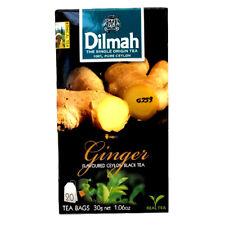 Ginger TEA By Dilmah Ginger Flavored Ceylon Black Tea