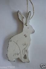 Hanging wooden Rabbit Decoration