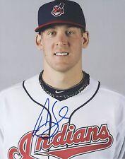 Nick Hagadone CLE Cleveland Indians Auto Signed 8x10 Photo COA GFA