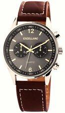 Militär Herrenuhr Excellanc Uhr Army Style Armbanduhr Chronograph Optik Quarzuhr