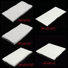 "AU 24""x12"" Ceramic Fiber Wool Blanket Thermal High Temperature Insulation Carpet"