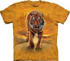 "The Mountain Erwachsenen Batik T-Shirt ""Rising Sun Tiger"""