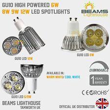 UK GU10 Dimmable 6 W 8 W 9 W risparmio energetico caldo/freddo bianco LED Lampadina Riflettore