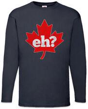Canada Eh? Long Sleeve T-Shirt Frank Gallagher Shameless Fun Maple Leaf Flag