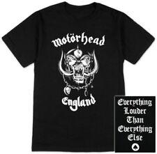 Motorhead Lemmy Warpig England Distressed Black Shirt (SML-2XL) badhabitmerch