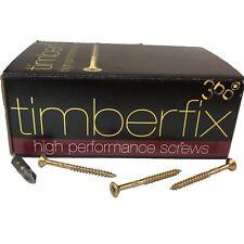 8g 4mm x 50mm PREMIUM CHIPBOARD PLY WOOD TIMBER SCREWS POZI CSK TIMBERFIX 360