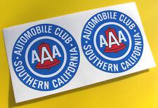 Vintage-stil AAA Südlichen California 2 sticker aufkleber