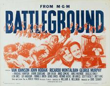 Battleground Van Johnson vintage movie poster print #1