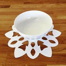 Copo De Nieve Forma Set de Mantel individual - Blanco