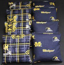 University of MICHIGAN WOLVERINES 8 Cornhole Bean Bags ACA Regulation