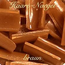 Keratin braun 25 / 50 / 100 / 150 Stück Bondings, Granulat f Echthaar Extensions