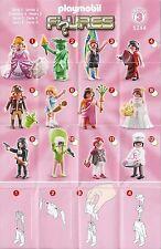 Playmobil 5244 Figuren Figures Serie 3 Girls - neuwertig