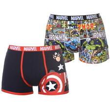 Da Uomo Marvel Comics Capitan America Boxer Boxer Mutande Slip Underwear