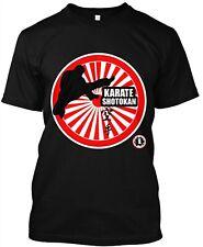 Karate Shotokan T-Shirt Black tee Japanese Funakoshi martial arts