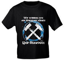 Shirt unisex S M L Xl Xxl T-Shirt Ruhrpott Wir wissen wo der Hammer haengt 10910
