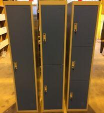 Metal 1,2,3,4,5 or 6 Door Key Lockable Staff / Gym / Storage Locker