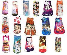 Disney Socks Ladies Disney Betty Boop Hello Kitty Frozen Minnie Cinderella