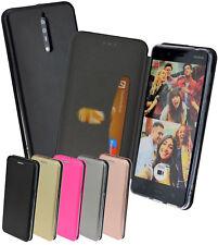 Nokia 8 Tasche Klapp Hülle Book Style Schutzhülle Wallet Case mit Kartenfach