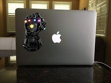 30-134 Thanos' Infinity Gauntlet Black Window vinyl sticker decal Star Lord
