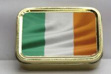 Ireland National Irish Flag, St Patrick Flag Cigarette Tobacco Storage 2oz Tin