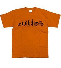 Motorholics Homme Evolution of Man pour NORTON Commando T-Shirt S - 5XL