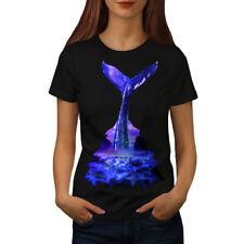 Blue Whale Diving Women T-shirt S-2XL NEW   Wellcoda