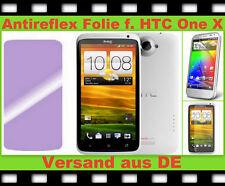 3 x Anti reflex Glare Display Schutz folie HTC One X Handy matt SCREEN PROTECTOR