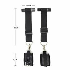 Sexy Bondage Hanging Hand Wrist Cuffs Restraint Straps Adult S&M Fetish Door Jam