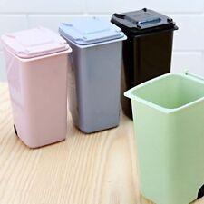 Mini Plastic Desktop Garbage Basket Table Waste Bin Home Office Trash Can Fashio