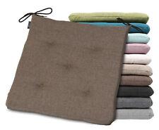 Stuhlkissen 41x40x4.5 cm, Linen Sitzkissen Polster, Harry Sunday, Farbe wählbar