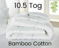 10.5 Tog Bambou Coton Luxe Hypo-allergénique Couette-Hôtel Qualité-Toutes Taille...