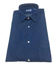 ASPESI camicia uomo denim mod SEDICI CE36 6191 con taschino 100% cotone
