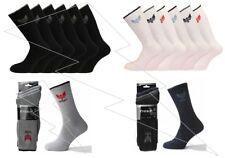 Mens Quality Cotton Rich Cushion Sole Crown Sports Socks Work Shoe Size 6-11 Lot