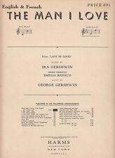 The Man I Love-1945-Ira Gershwin-6 Page-Sheet Music