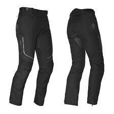 Richa Colorado Tela Impermeable Pantalones de Moto Negro Estándar