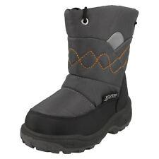 Boys / Girls  REFLEX Dark Grey/Black synthetic snow boots