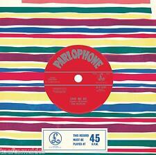 "7"" vinyl 2nd repr. misspressed Beatles Love me do 50th anniversary + promo stick"