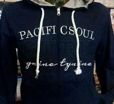 Männer Pullover Guru Geöffnet Reißverschluss mit Logo Bestickt, Taschen