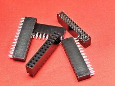 Encabezado de PCB de 13+13 vías tira de zócalo doble fila Chapado en Oro TFH26DS