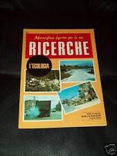 RICERCHE-SALVADEO TORINO-N°51- ECOLOGIA