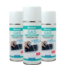 Spray d'air comprimé pour nettoyage ordinateur Vakoss