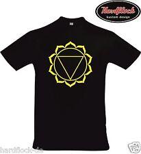 T-shirt manipura chakra Goa meditación yoga india espiritualidad india esoth