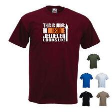 """esto es lo que un impresionante joyero se ve como"" Joyeros Camiseta Camiseta Graciosa"