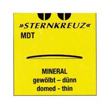 Vetro minerale gewölbtes per orologi da polso, sottili, SPESSORE 0,8 -0, 9 mm
