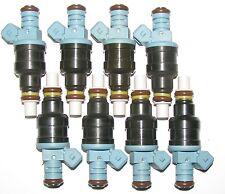 Set of 8 BRAND NEW Fuel Injectors, 1987-91 Ford Trucks w 7.5 L V8
