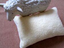 almohada de lana, almohada 100% lana merina Rizado + Relleno De Lana