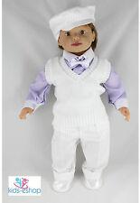Baby Boy Battesimo Vestito da battesimo partito formale Set 5 PEZZI 0-18 M