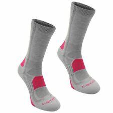 Karrimor Womens Ladies Walk Socks Footwear Accessories 2 Pack