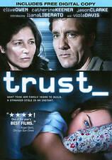 Trust (DVD, 2011) Internet predator, Online Chat  Clive Owen, Catherine Keener